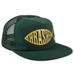 THRASHER FISH MESH SNAP GREEN