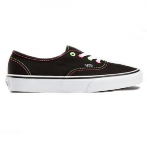 VANS AUTHENTIC VMN BLCK/PINK/YELLOW