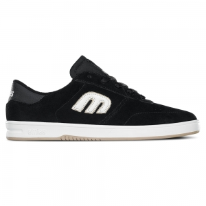 ETNIES LO-CUT BLACK/WHITE