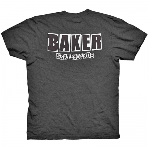 BAKER BRAND LOGO HEATHER BLACK