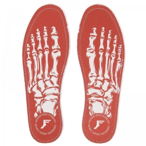 FOOTPRINT FLAT INSOLE 5MM SKELETON