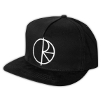 POLAR SKATE CO. STROKE SNAPBACK BLACK