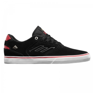 EMERICA THE REYNOLDS LOW VULC BLACK / WHITE / RED