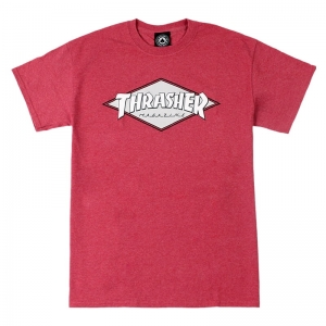 THRASHER OG DIAMOND LOGO RED