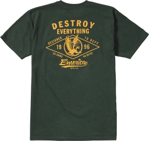EMERICA DESTROY POCKET TEE FORREST
