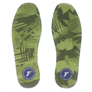 FOOTPRINT FLAT INSOLE 3MM CAMO YELLOW