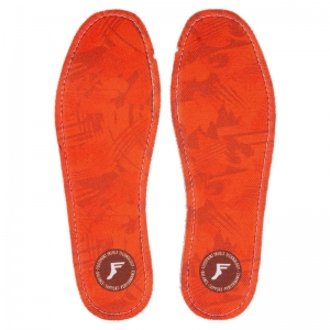 FOOTPRINT FLAT INSOLE 3MM CAMO RED