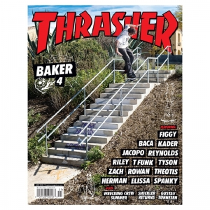 THRASHER SKATEBOARD MAGAZINE  JANUARY 2020