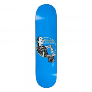 POLAR SKATE CO. OSKAR ROZENBERG THE COUNT BLUE 8.0""