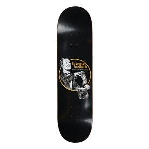 POLAR SKATE CO. OSKAR ROZENBERG THE COUNT BLACK 8.25""