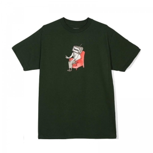 BAKER TV FOREST GREEN TEE