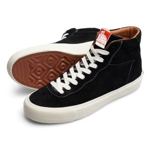 LAST RESORT AB - SUEDE VM001 HI BLACK / WHITE