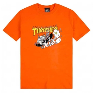 THRASHER 40 YEARS NECKFACE ORANGE