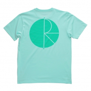 POLAR SKATE CO. FILL LOGO BEHIND THE CURTAIN PASTEL MINT/GREEN