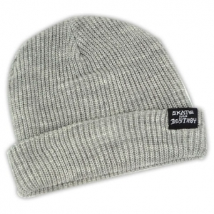 THRASHER SKATEGOAT / SKATE AND DESTROY BEANIE GREY