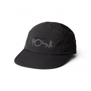 POLAR SKATE CO. SPEED CAP BLACK