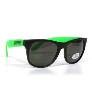 THRASHER SUNGLASSES BLACK GREEN