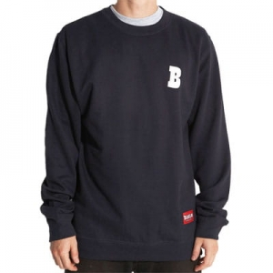 BAKER B HIT CREW NECK NAVY