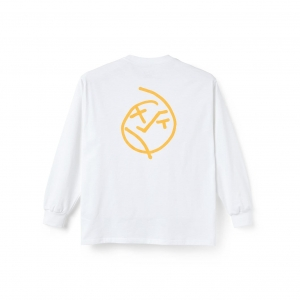 POLAR SKATE CO. BIG BOY LONGSLEEVE - WHITE
