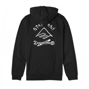 EMERICA x HARD LUCK ZIP HOOD BLACK